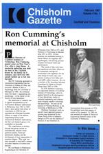 Chisholm Gazette February 1987