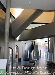 Art & Design foyer, Caulfield