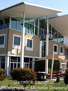 Multidiscipline building at Berwick campus
