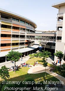 Sunway campus, Malaysia
